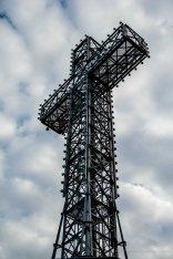 La croix surplombant le Mont Royal
