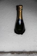 Refroidir le champagne