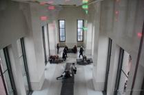 La salle de repos au 67eme etage