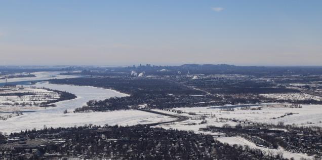 Montréal à l'horizon