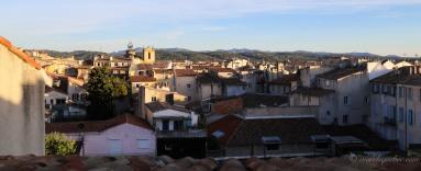 Vue d'Aix en Provence